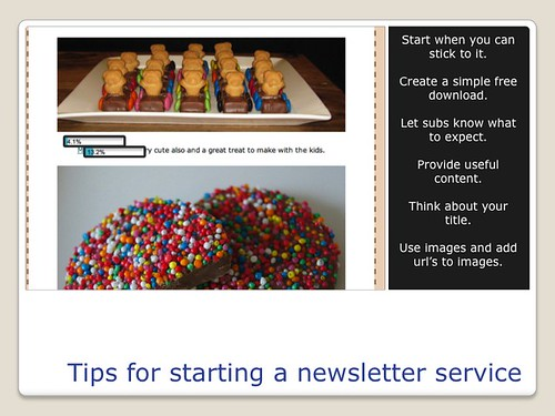 Blogging Tools - Newsletter Tips