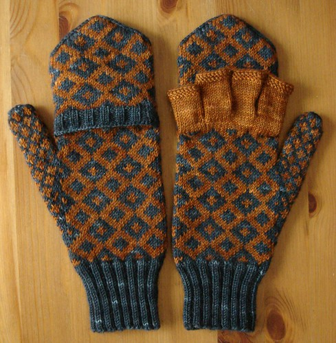 Windsor mitts - open and closed
