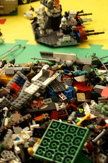 Tuesday: Lego playing aftermath
