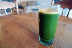 Carrot, Celery, Spinach and Watercress Juice