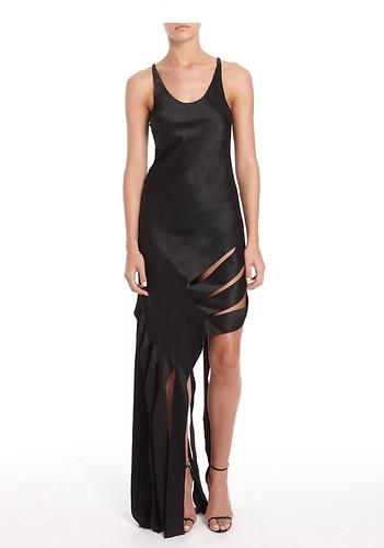 Black Streamer Dress
