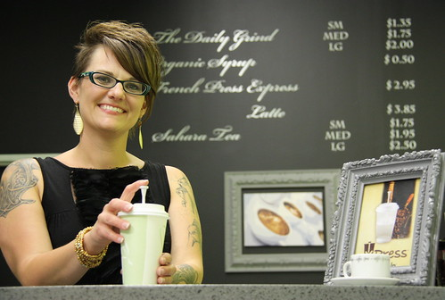 Marie showcases XPress Pressed Coffee
