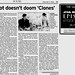 Review - Attack of the Clones - Scene 3 - Goofy plot doesn't doom Clones - Lawrence Journal-World - 2002-05-17