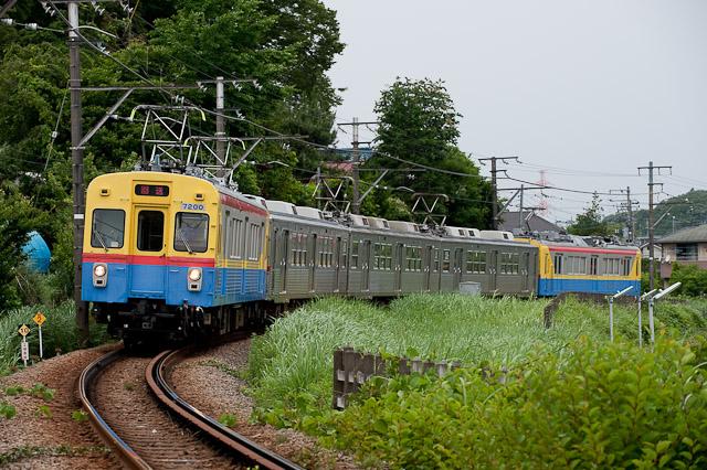 東急電鉄7700系7701F 入場回送