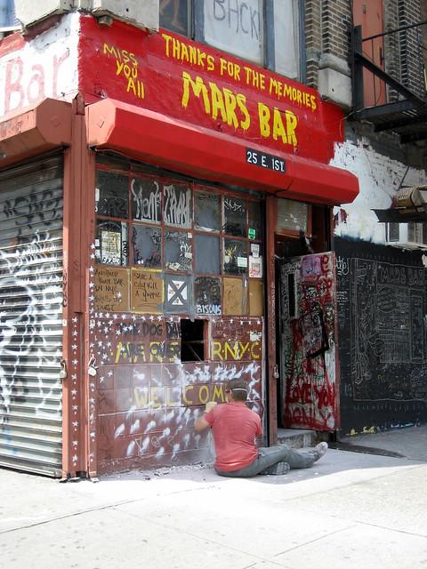 Mars Bar Demolition