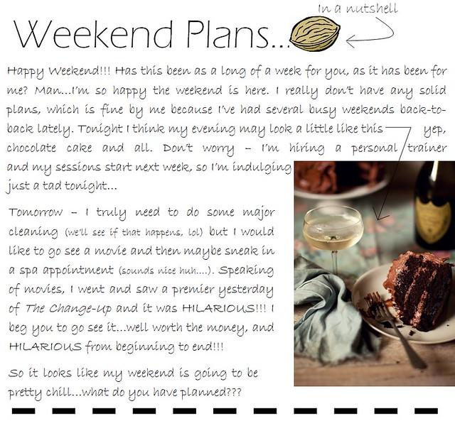weekend plans 7.29