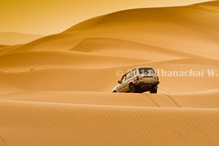 4x4 in the Dunes (Beum Gallery) Tags: voyage africa travelling sahara sand desert 4x4 dunes dune sable riding camel morocco journey maroc maghreb camels gettyimages afrique fourwheeldrive dsert merzouga nomade dromadaire chameau ergchebbi chameaux dromadaires  saharaoui       quatrequatre        availableforlicenseongettyimages