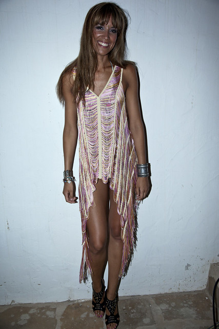 Ibiza style file: Sarah rock and ruched