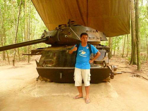 Tank in Cu Chi
