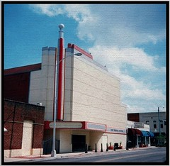 Martin Theatre ~ Douglas GA (Onasill ~ Bill Badzo - OFF) Tags: house cinema art architecture ga georgia movie theater martin theatre style center moderne douglas deco onasill