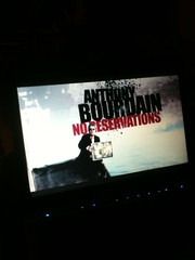 Friday: watching No Reservations