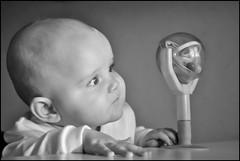 (Maykol Vargas) Tags: baby blackwhite sweden dalarna borlnge observing babytoy