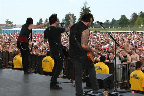 Hinder at Brickfest