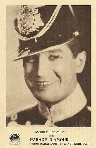 Maurice Chevalier in The Love Parade