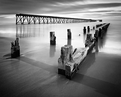 Streetly 3 (Stewart Ayrey) Tags: longexposure sea bw coast pier groyne hartlepool streetly neutraldensity neengland nd110 silverefexpro2