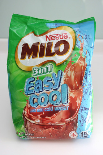 Made in Singapore! Milo Easy Cool - just add cold water!