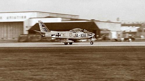 Canadair CL-13B Sabre 6 of the Luftwaffe Jagdgeschwader 71 (JG71) Richthofen