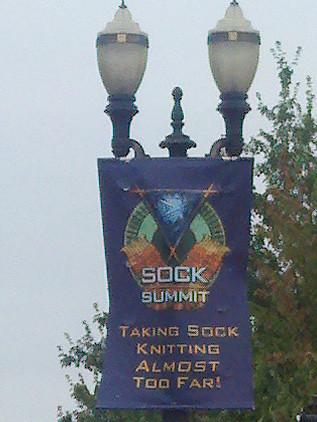 sock summit sign
