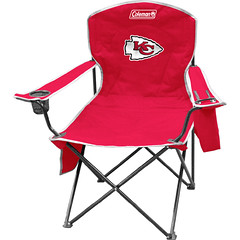 Kansas City Chiefs Tailgate & Camping Cooler Chair