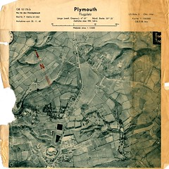 Plymouth : October 1941 (Plymouth History) Tags: cornwall map aircraft nazi plymouth aerial devon photograph german target bomb blitz bombing reich devonport secondworldwar stonehouse luftwaffe plymstock saltash torpoint