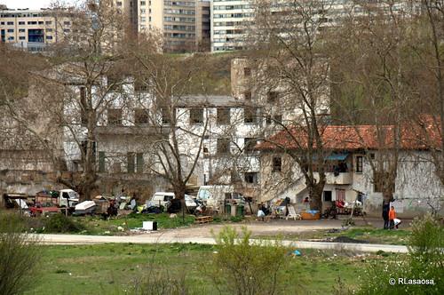 Edificios y vistas de la Avenida de Aróstegui,