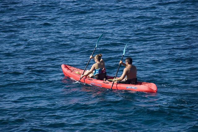 カイルア・カヤック・アドベンチャーツアー(海のアクティビティのオプショナルツアー)