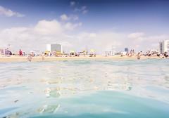 (Luis Hernandez - D2k6.es) Tags: barcelona sea summer sky cloud costa hot sol beach water clouds canon mar agua bcn playa verano genre calor s90 nubs tumbona gettyiberiasummer