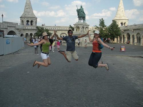 Budapest, Hungary - jumping shot