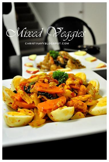 Potluck Dinner: Spicy Mixed Veggie