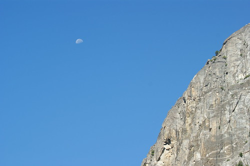 Moon over El Capitain