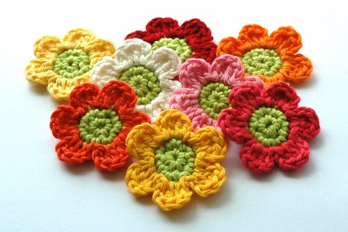 Crochet Flowers by AnnieDesign