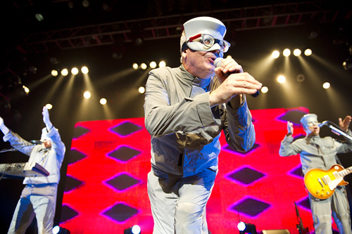 Devo at the City National Grove of Anaheim (8/5/11) Mark Mothersbaugh