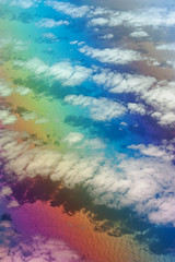 Goab, the Desert of Colors (frantic_indolence_) Tags: ocean clouds plane shadows flight aerial polarizer neverendingstory bastian michaelende goab desertofcolors