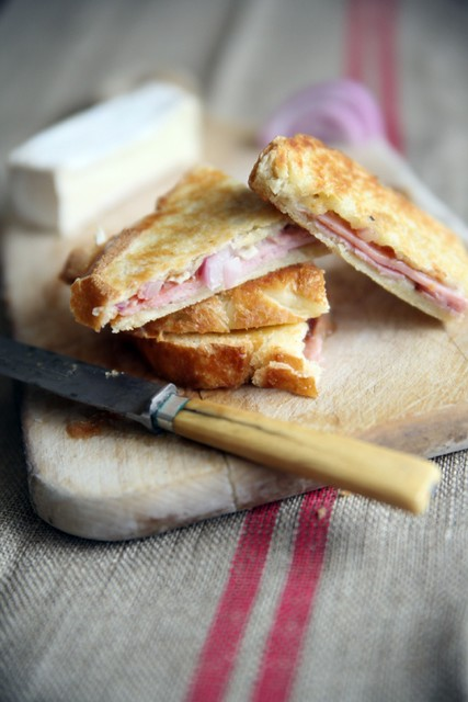 4 Muybuenocookbook Photo by Jeanine Thurston-Quince Brie Black Forest Ham Panini