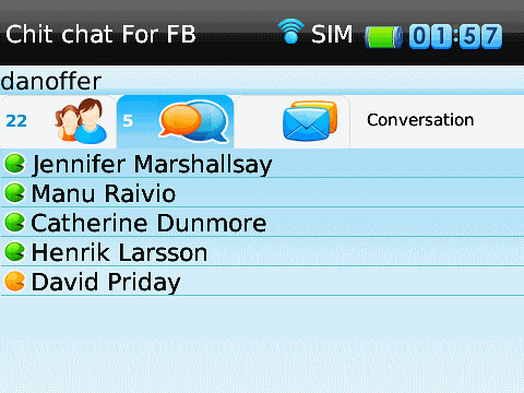 Chit Chat for BlackBerry (2)