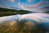 Golden Reflection (Javier Damlow) Tags: madrid sunset wallpaper lake reflection water de landscape agua fondo escritorio pantalla jg iphone 1635 newvision a850 bestcapturesaoi dblringexcellence tplringexcellence damlow peregrino27newvision fujixperience