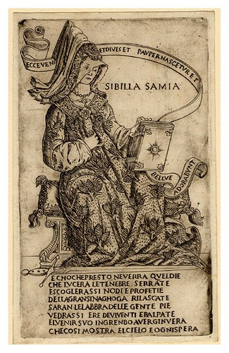 016-La Sibila de Samos 1480-90 -Francesco Rosselli © The Trustees of the British Museum