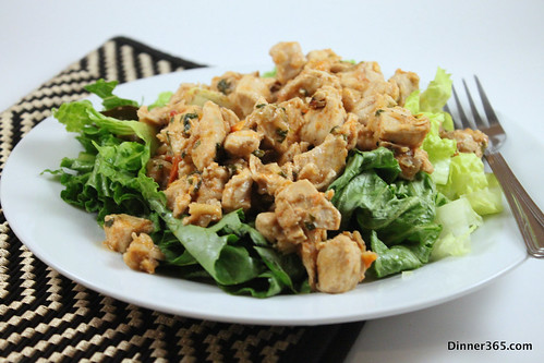 Day 220 - Chicken Stir Fry Salad