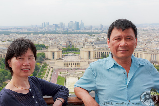 Parents At The Top Of The Eiffel