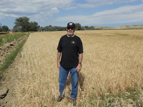 Uncle Al in field