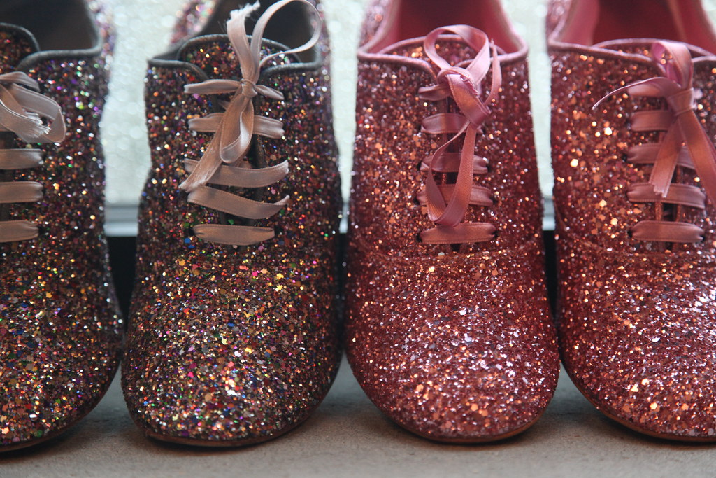 nicolette mason: Pink Glitter on a Stormy Day