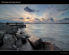 The Rocks of Crosby Marina (awhyu) Tags: sunset lake seascape marina liverpool canon rocks place tokina filter 7d boating anthony another antony hitech gormley crosby bootle merseyside 1116mm