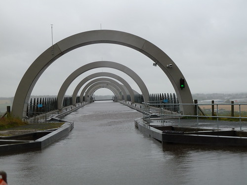 Architecture at Falkirk Wheel