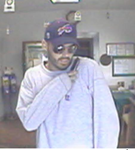 Volant Bank Robbery Suspect