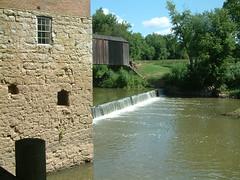 Bollinger Mill August 9, 2011 39 (whitebuffalobk) Tags: missouri coveredbridge largemouthbass burfordville bollingermill august92011
