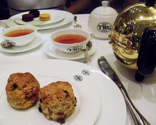 afternoon tea @ TWG