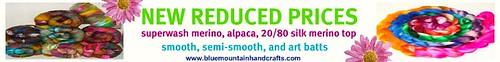 reduced price banner by bluemtnhandcrafts