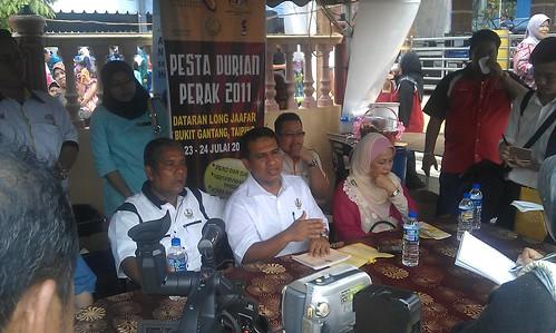 Sidang Media Pesta Durian Perak 2011