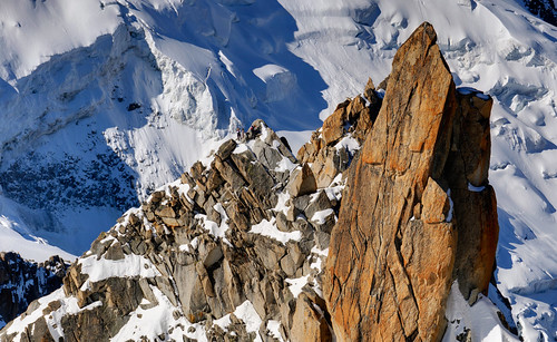 From Chamonix to Courmayer - Aiguille du Midi 27