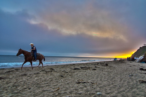 Day 225/365: Horseback Riding on the Beach